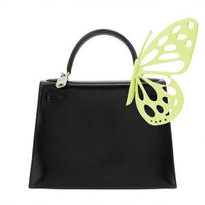 Grace Single Lime Green Butterfly